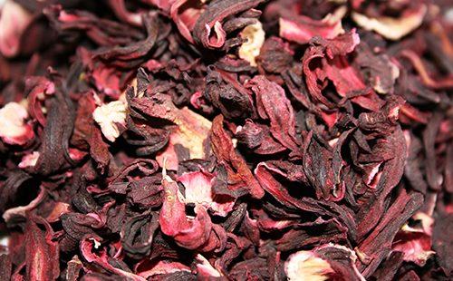 Сушёные лепестки суданской розы