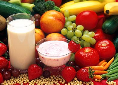 Раздельное питание для похудения - таблица совместимости продуктов