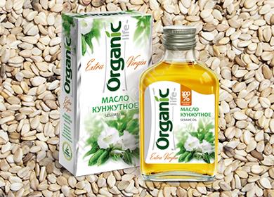 Кунжутное масло для лица от морщин