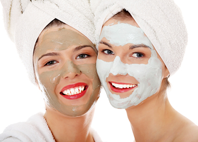 Розовая глина для кожи лица - маски в домашних условиях