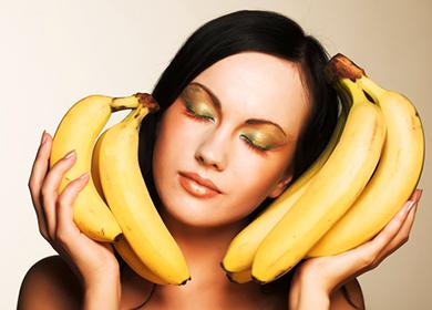 Самая лучшая маска для лица от морщин из банана