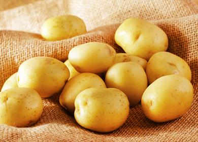 Маска для лица из картофеля сырого от морщин