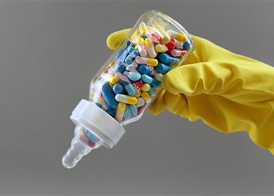 Антибиотики при лактации какие можно